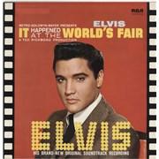 Elvis Presley It Happened At The World's Fair UK vinyl LP