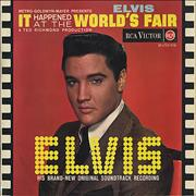Elvis Presley It Happened At The World's Fair - 1st UK vinyl LP