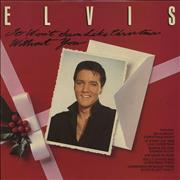 Elvis Presley It Won't Seem Like Christmas Without You UK vinyl LP