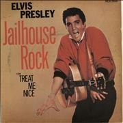 Click here for more info about 'Elvis Presley - Jailhouse Rock + Sleeve - EX'