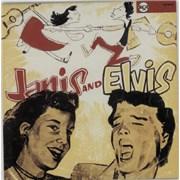 """Elvis Presley Janis & Elvis France 10"""" vinyl"""