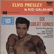 Click here for more info about 'Elvis Presley - Kid Galahad - Tan label'