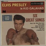 Click here for more info about 'Elvis Presley - Kid Galahad EP - 2nd'