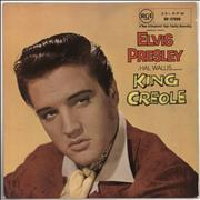 Click here for more info about 'Elvis Presley - King Creole - 1st - 8/58 Dated slv - EX'