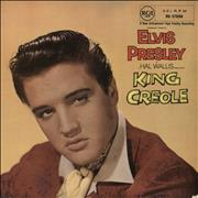 Click here for more info about 'Elvis Presley - King Creole - 1st - 8/58 Dated slv - VG'