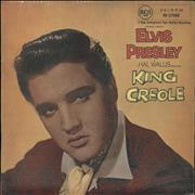 Click here for more info about 'Elvis Presley - King Creole - Undated, laminated flipback'