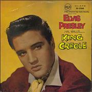 Click here for more info about 'Elvis Presley - King Creole - Undated, laminated non-flipback'