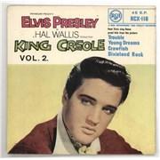 "Elvis Presley King Creole Vol. 2 - SFA59/1 UK 7"" vinyl"