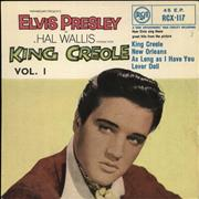 Click here for more info about 'Elvis Presley - King Creole Vol.1 E.P. - 2nd'