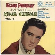 Click here for more info about 'Elvis Presley - King Creole Vol.2 E.P. - Round Centre'