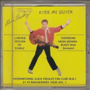 Click here for more info about 'Elvis Presley - Kiss Me Quick'