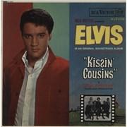 Elvis Presley Kissin' Cousins - 1st UK vinyl LP