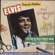 Click here for more info about 'Elvis Presley - (Let Me Be Your) Teddy Bear - Green Vinyl'