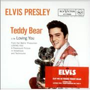 Click here for more info about 'Elvis Presley - [Let Me Be Your] Teddy Bear'