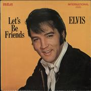 Click here for more info about 'Elvis Presley - Let's Be Friends - EX'