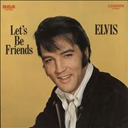 Click here for more info about 'Elvis Presley - Let's Be Friends'