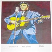 Click here for more info about 'Elvis Presley - Limited Edition Print - 250 Only'