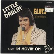 Click here for more info about 'Elvis Presley - Little Darlin' - Gold Vinyl'