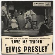 Click here for more info about 'Elvis Presley - Love Me Tender EP - EX'