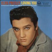 Click here for more info about 'Elvis Presley - Loving You - 1st - VG'