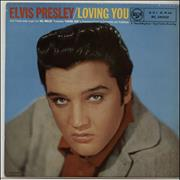 Click here for more info about 'Elvis Presley - Loving You - 3rd - VG'