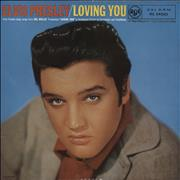 Click here for more info about 'Elvis Presley - Loving You - 4th - VG+/EX'