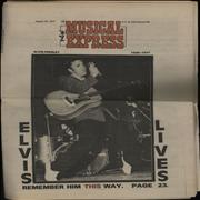 Click here for more info about 'Elvis Presley - New Musical Express'