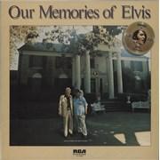Elvis Presley Our Memories Of Elvis UK vinyl LP