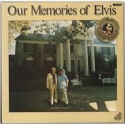 Elvis Presley Our Memories Of Elvis Germany vinyl LP
