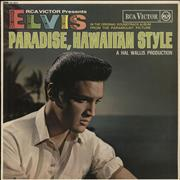 Click here for more info about 'Elvis Presley - Paradise, Hawaiian Style - 1st'