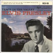 Click here for more info about 'Elvis Presley - Peace In The Valley - 4th - 5/58'