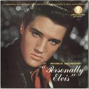 Elvis Presley Personally Elvis UK 2-LP vinyl set