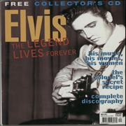 Click here for more info about 'Elvis Presley - Platinum Sampler + Original Magazine'