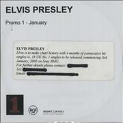 Click here for more info about 'Elvis Presley - Promo 1 - January'