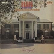 Elvis Presley Recorded Live On Stage In Memphis - 2nd UK vinyl LP