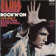 Elvis Presley Rock 'n' On Volume 2 Australia 2-LP vinyl set
