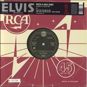 Click here for more info about 'Elvis Presley - Rock-A-Hula Baby [numbered]'