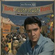 Elvis Presley Roustabout - Red Spot - VG UK vinyl LP