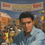 Elvis Presley Roustabout UK vinyl LP