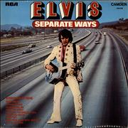 Elvis Presley Separate Ways UK vinyl LP