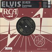 Click here for more info about 'Elvis Presley - She's Not You [Numbered]'
