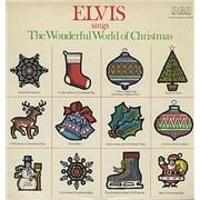 Elvis Presley Sings The Wonderful World Of Christmas USA vinyl LP