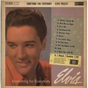 Elvis Presley Something For Everybody - 1st - VG UK vinyl LP
