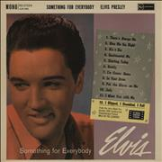Click here for more info about 'Elvis Presley - Something For Everybody - 1st - EX'