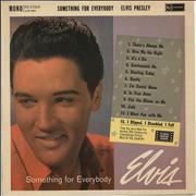 Elvis Presley Something For Everybody - 1st UK vinyl LP