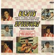 Elvis Presley Speedway UK vinyl LP