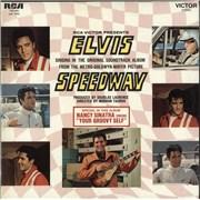 Elvis Presley Speedway France vinyl LP