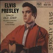 Click here for more info about 'Elvis Presley - Strictly Elvis E.P. - 6th - EX'