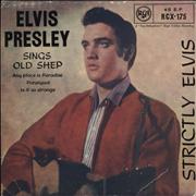 Click here for more info about 'Elvis Presley - Strictly Elvis EP - orange label - solid'