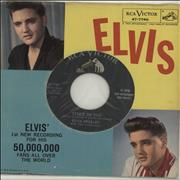 "Elvis Presley Stuck On You USA 7"" vinyl"